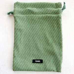*Free w/ Purchase* Green Triangl Bag